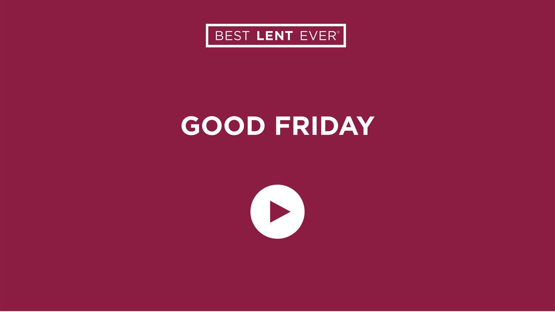 Best Lent Ever, Dynamic Catholic, Sacrifice