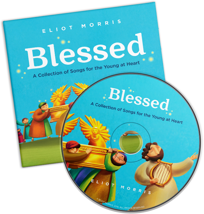 BLESSED Music CD