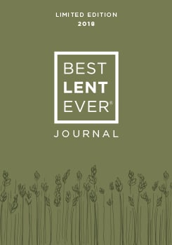 2018 BEST LENT EVER Journal