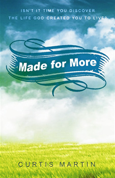 Made for More Book by Curtis Martin