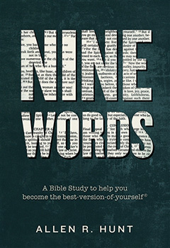 Nine Words Book by Allen Hunt